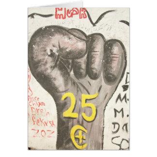 January 25 uprising card