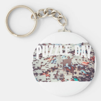January 29th - Puzzle Day - Appreciation Day Keychain