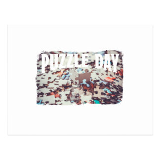 January 29th - Puzzle Day - Appreciation Day Postcard