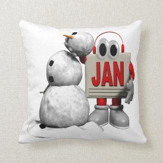 January 6 throw pillow