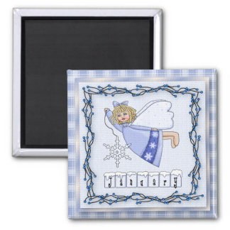 January Angel / Fairy Month Magnet