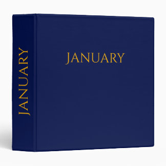 january binder