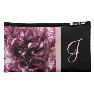 January Birth Flower Bag - Carnation Cosmetic Bag