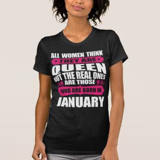 January Birthday Woman T-Shirt