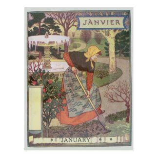 January Postcard