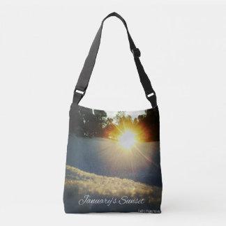 January Sunset Crossbody Bag