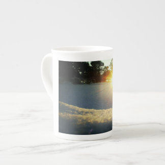 January Sunset Tea Cup
