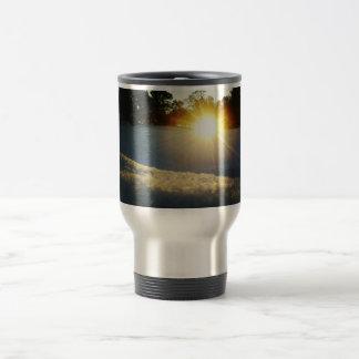 January Sunset Travel Mug