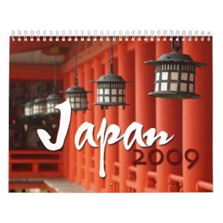 Japan 2009 calendars