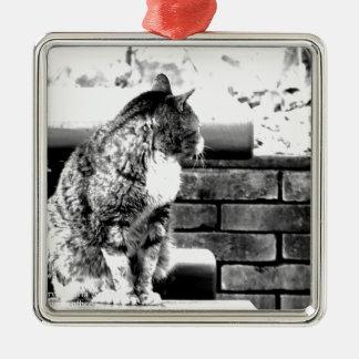japan art photographer design tokyo edition 2016 Silver-Colored square ornament