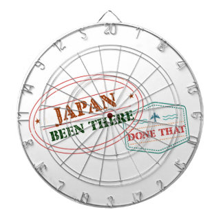 Japan Been There Done That Dartboard