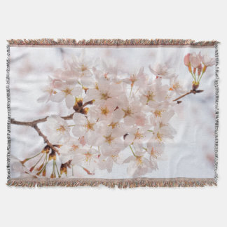 Japan Cherry Blossom Throw