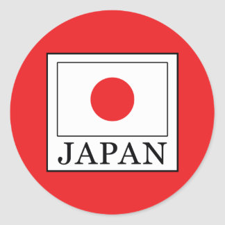Japan Classic Round Sticker