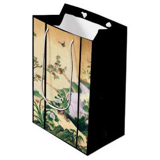 Japan Dove Birds Wisteria Flowers Stream Gift Bag