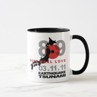 Japan Earthquake 8.9 Mug