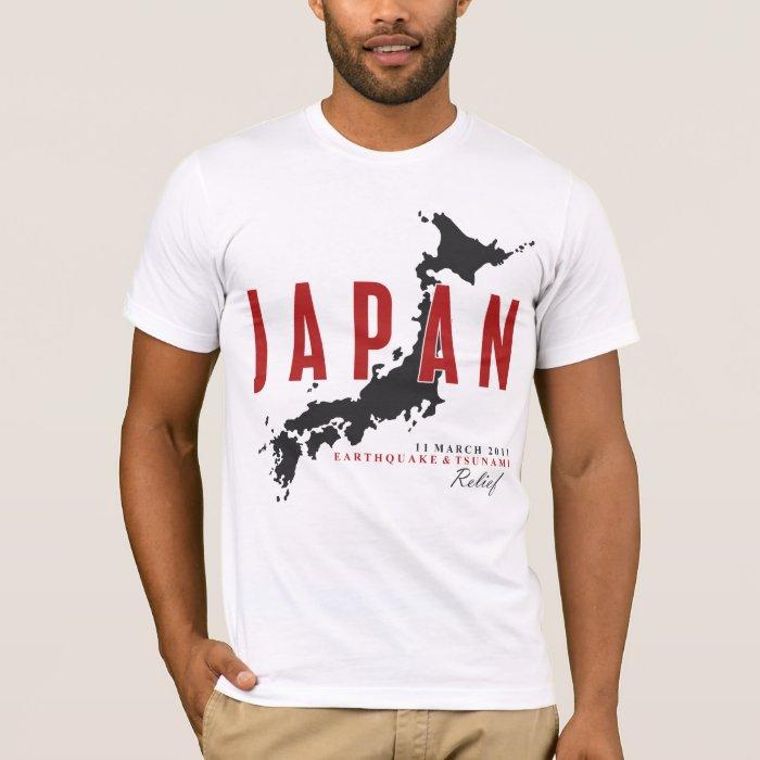 JAPAN EARTHQUAKE & TSUNAMI RELIEF T-Shirt