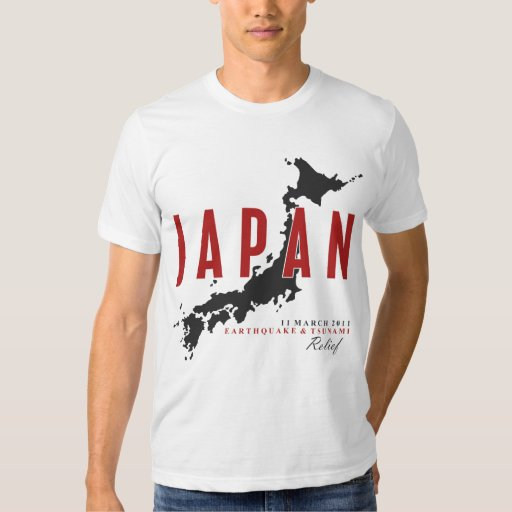 JAPAN EARTHQUAKE & TSUNAMI RELIEF TEE SHIRT