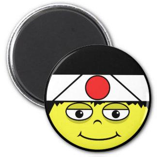 Japan  Face Magnet