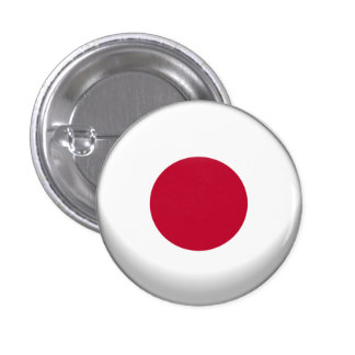 Japan Flag 1 Inch Round Button