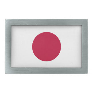 Japan Flag Belt Buckle