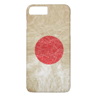 Japan Flag in Grunge iPhone 7 Plus Case