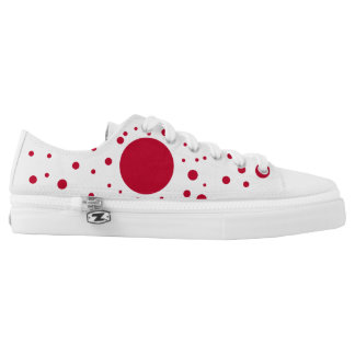 Japan Flag Low-Top Sneakers