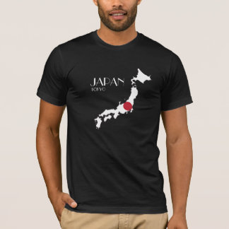 Japan Flag Map Shirt