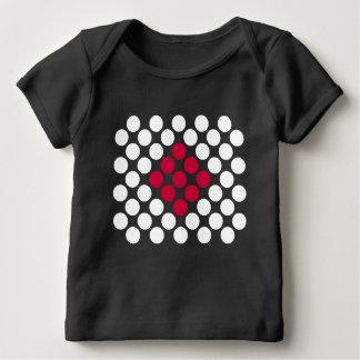 Japan Flag minimalist dots babies t-shirt
