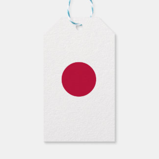 Japan Flag Pack Of Gift Tags