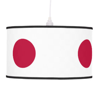 Japan Flag Pendant Lamp