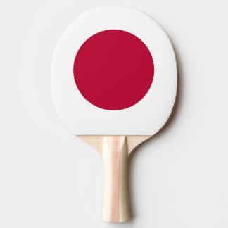 Japan Flag Ping Pong Paddle