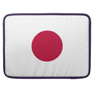 Japan Flag Sleeve For MacBooks