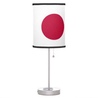 Japan Flag Table Lamp