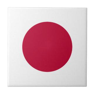 Japan Flag Tile