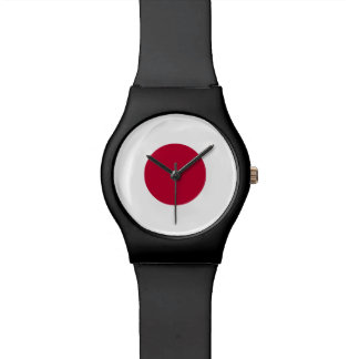 Japan Flag Wrist Watch