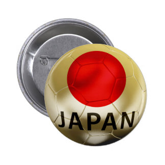 Japan Football 2 Inch Round Button