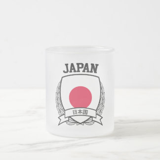 Japan Frosted Glass Coffee Mug