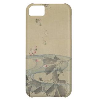 Japan:  Graceful Flower Case For iPhone 5C