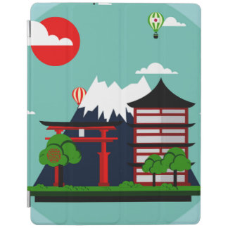 Japan, graphic art design iPad cover