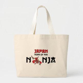 Japan Home Of The Ninja Jumbo Tote Bag