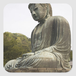 Japan, Honshu island, Kanagawa Prefecture, Square Sticker