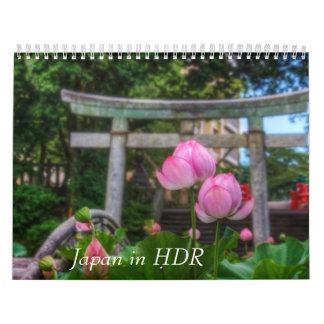 Japan in HDR Wall Calendar