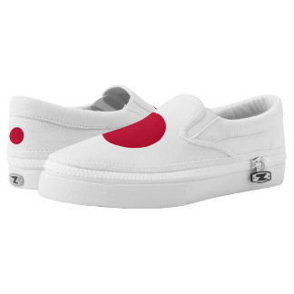 Japan Japanese Flag Slip-On Sneakers