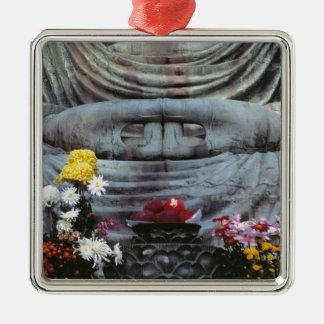Japan, Kanagawa Pref., Kamakura. Floral Metal Ornament