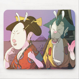 Japan Love Mouse Pad