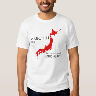 Japan March 11 Tshirts