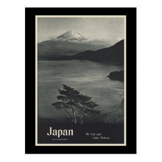 Japan Mount Fuji and Lake Motosu Postcard