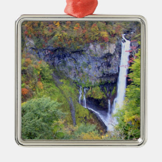 Japan, Nikko. Kegon waterfall of Nikko, a UNESCO Metal Ornament