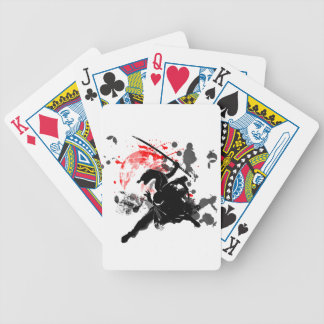Japan Ninja Bicycle Playing Cards