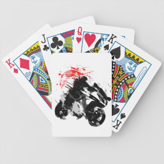 Japan Ninja Motorcycle Bicycle Playing Cards